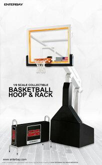 ENTERBAY 1/9 MOTION MASTERPIECE COLLECTIBLE NBA COLLECTIOIN BASKET BALL HOOP STAND (엔타베이1/9모션마스타피스코레크타불 NBA 컬렉션 농구 후프 스탠드) 1/9 SCALE 16 FW-I