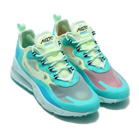 NIKE AIR MAX 270 REACT(ナイキ エア マックス 270 リアクト)HYPER JADE/FROSTED SPRUCE-BARELY VOLT【メンズ スニーカー】19FA-S