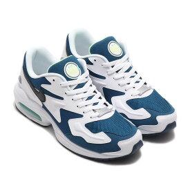 NIKE AIR MAX2 LIGHT(ナイキ エア マックス2 ライト)VALERIAN BLUE/BLACK-WHITE-AURORA GREEN【メンズ スニーカー】20SP-I atpss20