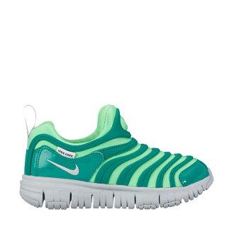 NIKE DYNAMO FREE (PS) (Nike dynamo-free PS) ILLUSION GREEN/PURE PLATINUM 17HO-I