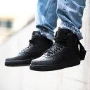 NIKE AIR FORCE 1 HIGH  07 (Nike air force 1 high 07) (BLACK BLACK-BLACK)  18SP-S f69c73e1a
