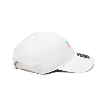 NIKEUNSWH86CAPFUTURAWASHED(ナイキH86フーチュラウォッシュドキャップ)(WHITE/WHITE/KINETICGREEN)18SU-S