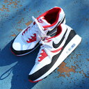 NIKE AIR MAX LIGHT (Kie Ney AMAX light) WHITE BLACK-VAST GREY-UNIVERSITY  RED 19SP-S 8ebb0509c