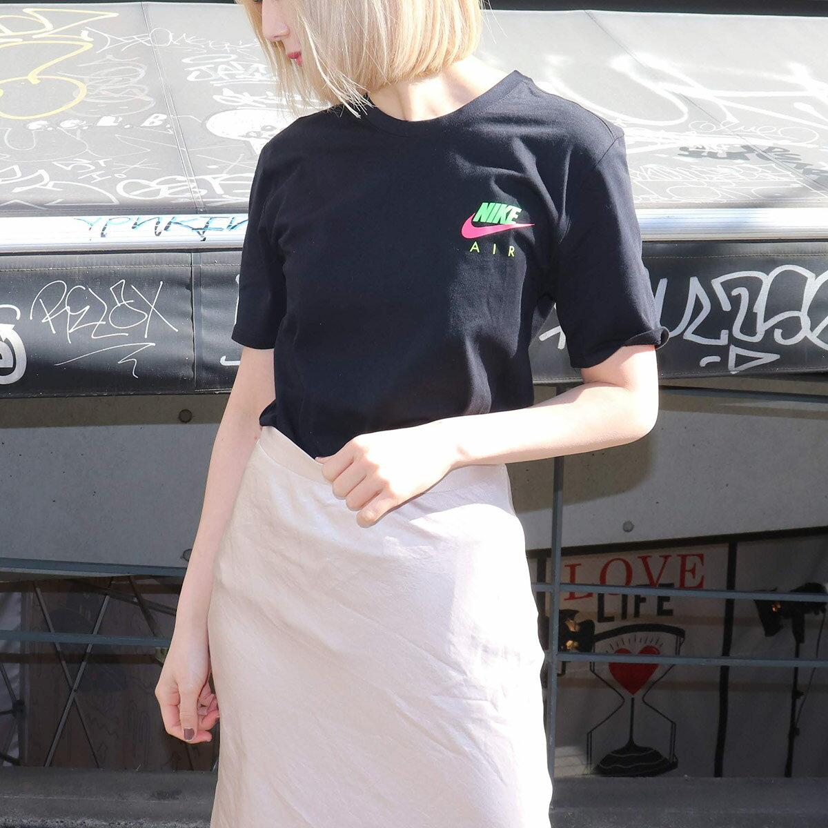 NIKE AS CITY NEON NSW TEE(ナイキ シティ ネオン S/S Tシャツ)BLACK【メンズ Tシャツ】19SP-I