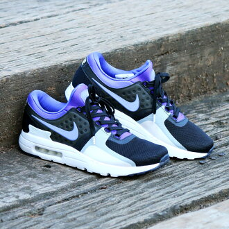 Marathon time store all points up to 20 times! NIKE AIR MAX ZERO QS (Nike Air Max zero QS) BLACK/PERSIAN VIOLET-WHITE 16FA-S