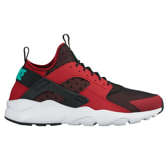 NIKE AIR HUARACHE RUN ULTRA (Nike Air halti run ultra) GYM RED/CLEAR JADE-BLACK-PURE PLATINUM 16FA-I