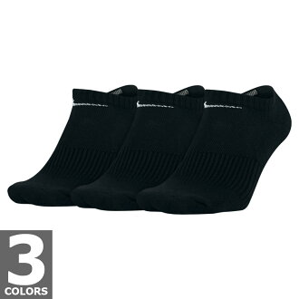NIKE 3 p COTTON CUSHION NO SHOW SOCKS + MOISTURE MANAGEMENT 3 deployment