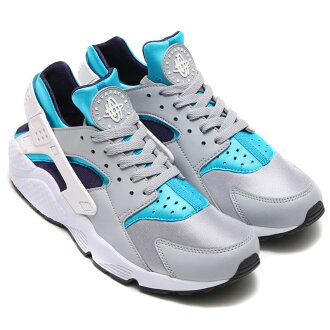 NIKE AIR HUARACHE (Nike Air halti) WOLF GREY/WHITE-AQUATONE-PURPLE DYNASTY-BLACK-WHITE 16HO-I