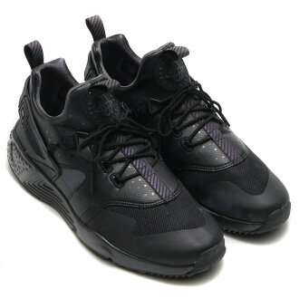 NIKE AIR HUARACHE UTILITY PRM (Nike Air halti utility premium) BLACK/ANTHRACITE-ANTHRACITE) 16 HO-I