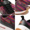 NIKE WMNS AIR MAX THEA ULTRA JCRD PRM (Nike women's Air Max Shea ultra premium Jacquard) (BLACK/BLACK-GUM YELLOW-WHITE) 16 HO-I
