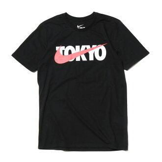 NIKE TOKYO SWOOSH PRINT TEE(naikitoukyosuusshupurinto T恤)(BLACK)17SU-I