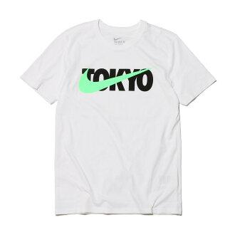 NIKE TOKYO SWOOSH PRINT TEE (ナイキトウキョウスウッシュプリント T-shirt) (WHITE) 17SU-I