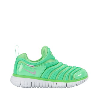 NIKE DYNAMO FREE PS (Nike dynamo-free PS) RAGE GREEN/METALLIC SILVER-ELECTRO GREEN 17SU-I
