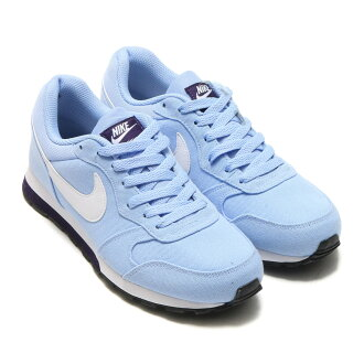 NIKE WMNS MD RUNNER 2(耐克妇女MD赛跑者2)ALUMINUM/WHITE-PURPLE DYNASTY 17SU-I