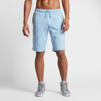NIKE FADEAWAY SHORT (Nike Jordan fading away short) (ICE BLUE) 17SU-I