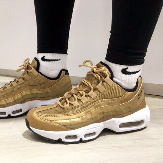 new concept 1bb81 a4439 NIKE WMNS AIR MAX 95 QS (Nike women Air Max 95 QS) (METALLIC ...
