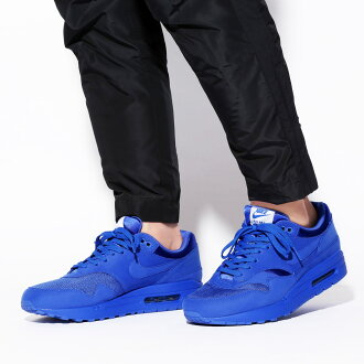 NIKE AIR MAX 1 PREMIUM (Kie Ney AMAX 1 premium) (GAME ROYAL/GAME ROYAL-NEUTRAL GREY-WHITE) 17SU-I