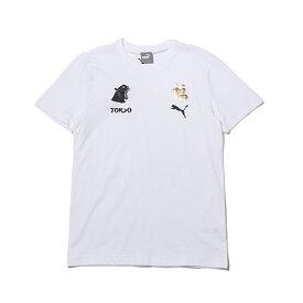 64c39ebc8b2cf PUMA RE)CITY TEE3 TK(プーマ RE)シティー ティーシャツ 3)WHITE