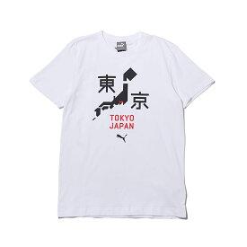 f4c9436cddb51 PUMA RE)CITY TEE2 TK(プーマ RE)シティー ティーシャツ 2)WHITE