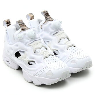 Super Sale duration limited ☆ shop all targets! Point up to 20 times! Reebok×Atmos PUMP FURY WHITE/SNAKE 13FW-S