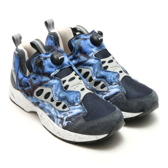 Reebok GS INSTAPUMP FURY ROAD (복 ガーブストア インスタ 퓨 리 로드) SOUND BLUE/GRAPHITE/SNOWGRAY/L