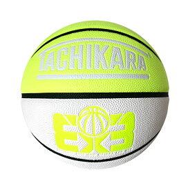 TACHIKARA 3X3 GAME BASKETBALL(タチカラ 3 x 3 ゲーム バスケットボール)NEON YELLOW/WHITE/BLACK【メンズ レディース ボール】18HO-I