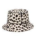 UGG Dalmatian Bucket Hat(アグ ダルメシアン バケットハット)BLACK/WHITE【メンズ レディース ハット】20FW-I
