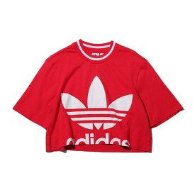 adidas CROPPED TEE(アディダス クロップド ティー)ENERGY PINK【レディース Tシャツ】19FW-I