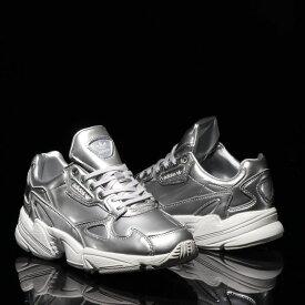 adidas FALCON W(アディダス ファルコン)SILVER MET/SILVER MET/CRYSTAL WHITE【メンズ レディース スニーカー】19FW-S
