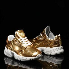 adidas FALCON W(アディダス ファルコン)GOLD MET/GOLD MET/CRYSTAL WHITE【メンズ レディース スニーカー】19FW-S