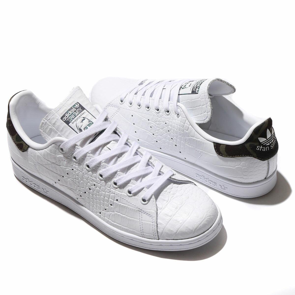 adidas Originals STAN SMITH(アディダス オリジナルス スタン スミス)WHITE/CORE BLACK【メンズ レディース スニーカー】17SS-I