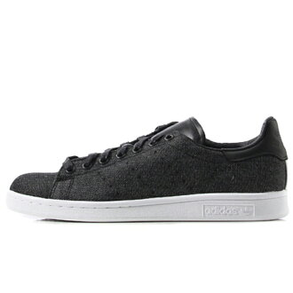 adidas Originals STAN SMITH(阿迪达斯原始物Stan Smith)CORE BLACK/CORE BLACK/VINTAGE WHITE S15 15SS-I