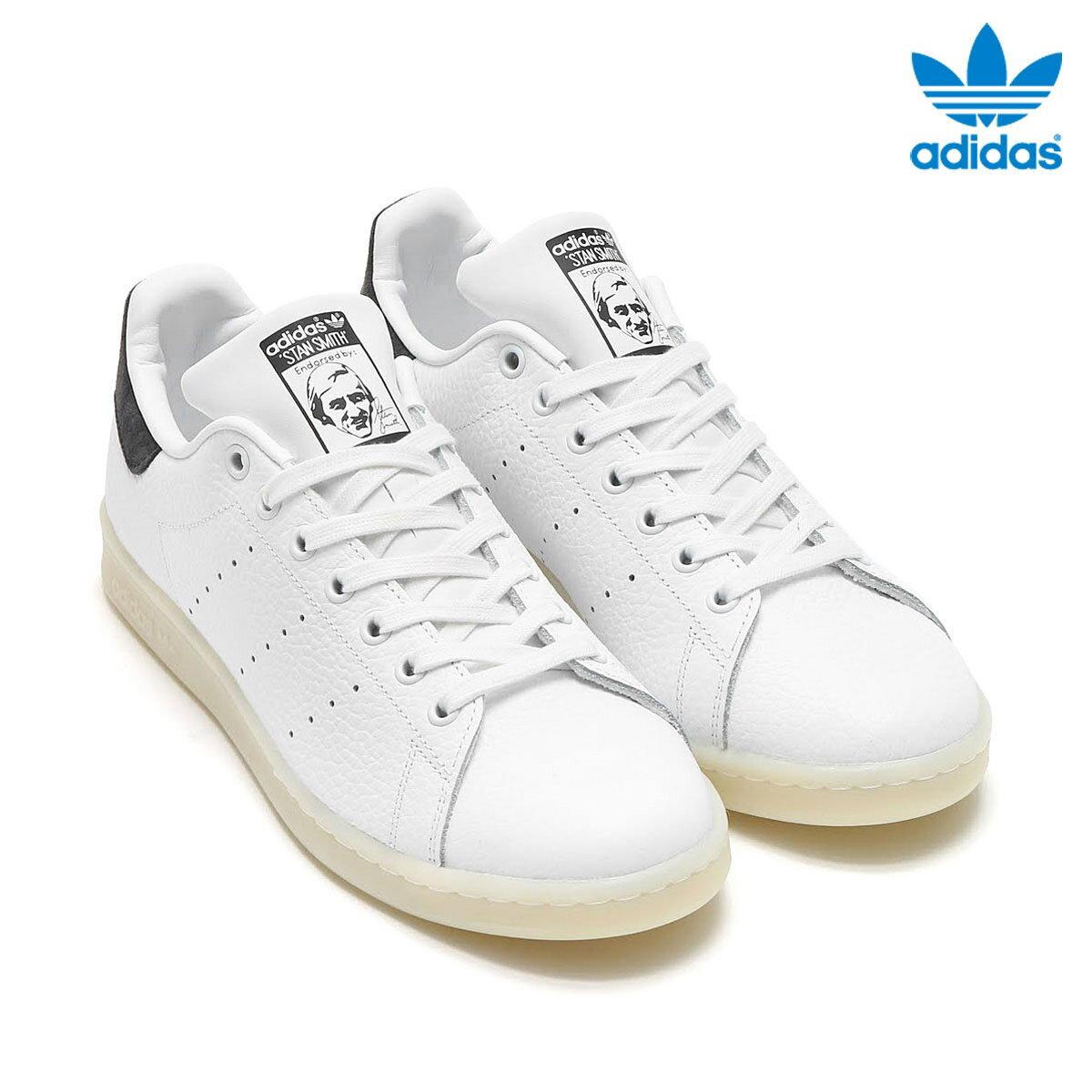 adidas Originals STAN SMITH (アディダス オリジナルス スタンスミス) RUNNING WHITE/RUNNING WHITE/UTILITY BLACK【メンズ レディース スニーカー】17SS-I