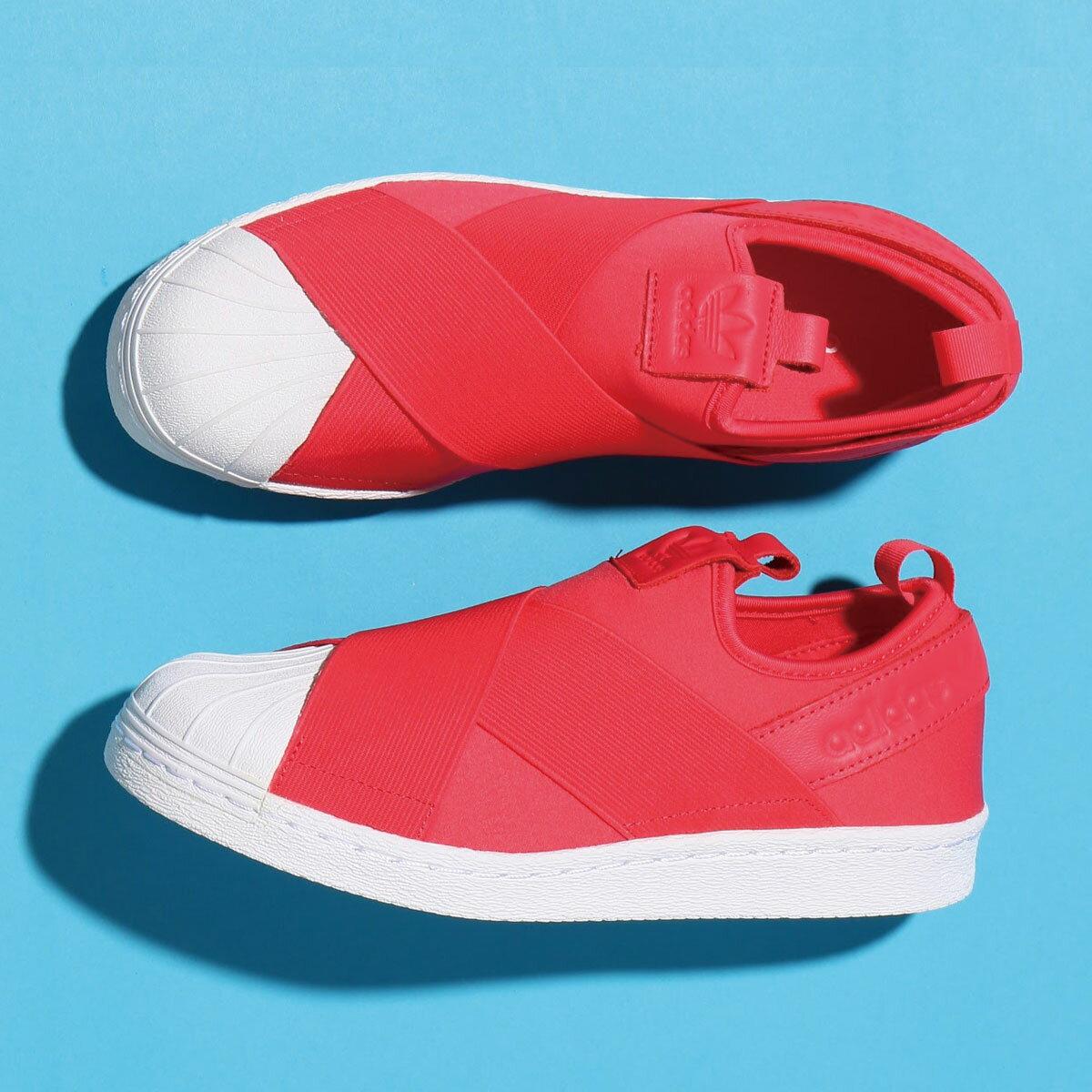 adidas Originals SUPERSTAR SlipOn W (アディダス スーパースター スリップオン W)CORE PINK/CORE PINK/RUNNING WHITE【レディース スニーカー】17SS-I