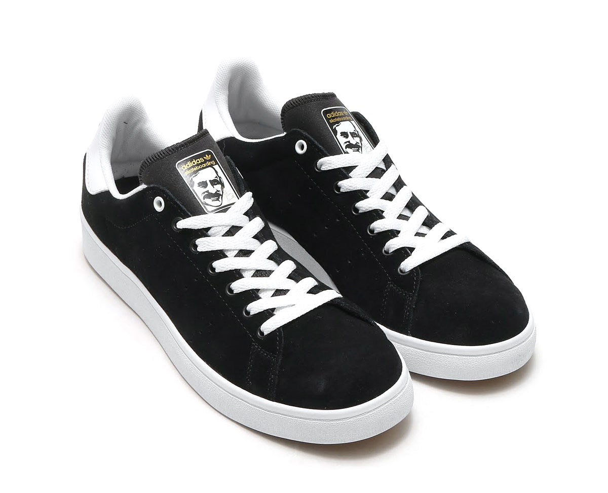 adidas Originals STAN SMITH VULC (アディダス オリジナルス スタンスミス)Core Black/Core Black/Running White【メンズ スニーカー】17FW-I