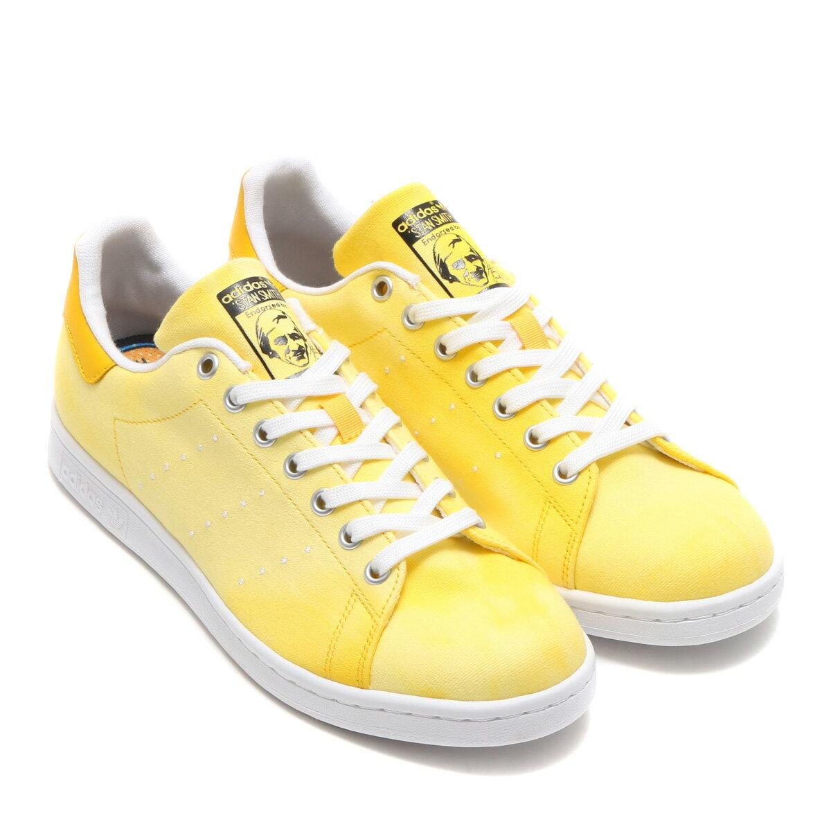 adidas Originals PW HU HOLI STAN SMITH (アディダス オリジナルス ファレル ウィリアムス HU HOLI スタンスミス) Yellow / Running White / Running White【メンズ スニーカー】18SS-S