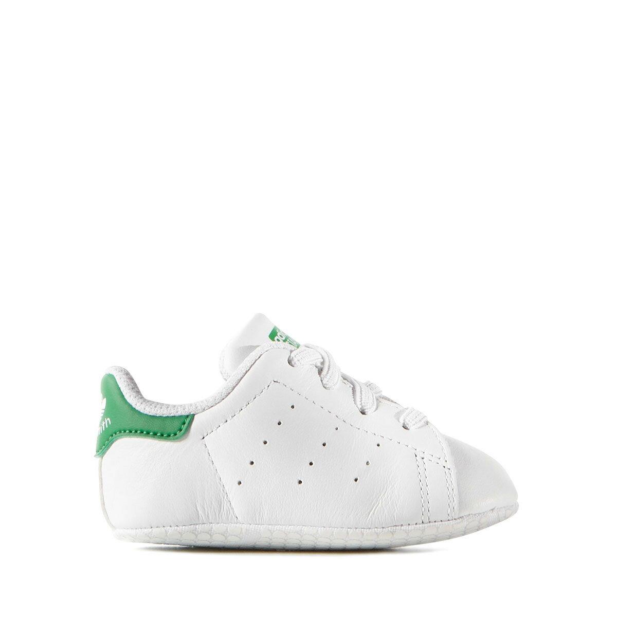 adidas Originals STAN SMITH CRIB(アディダス オリジナルス スタンスミス クリブ)Running White Ftw / Running White Ftw / Green【キッズ スニーカー】18SS-I