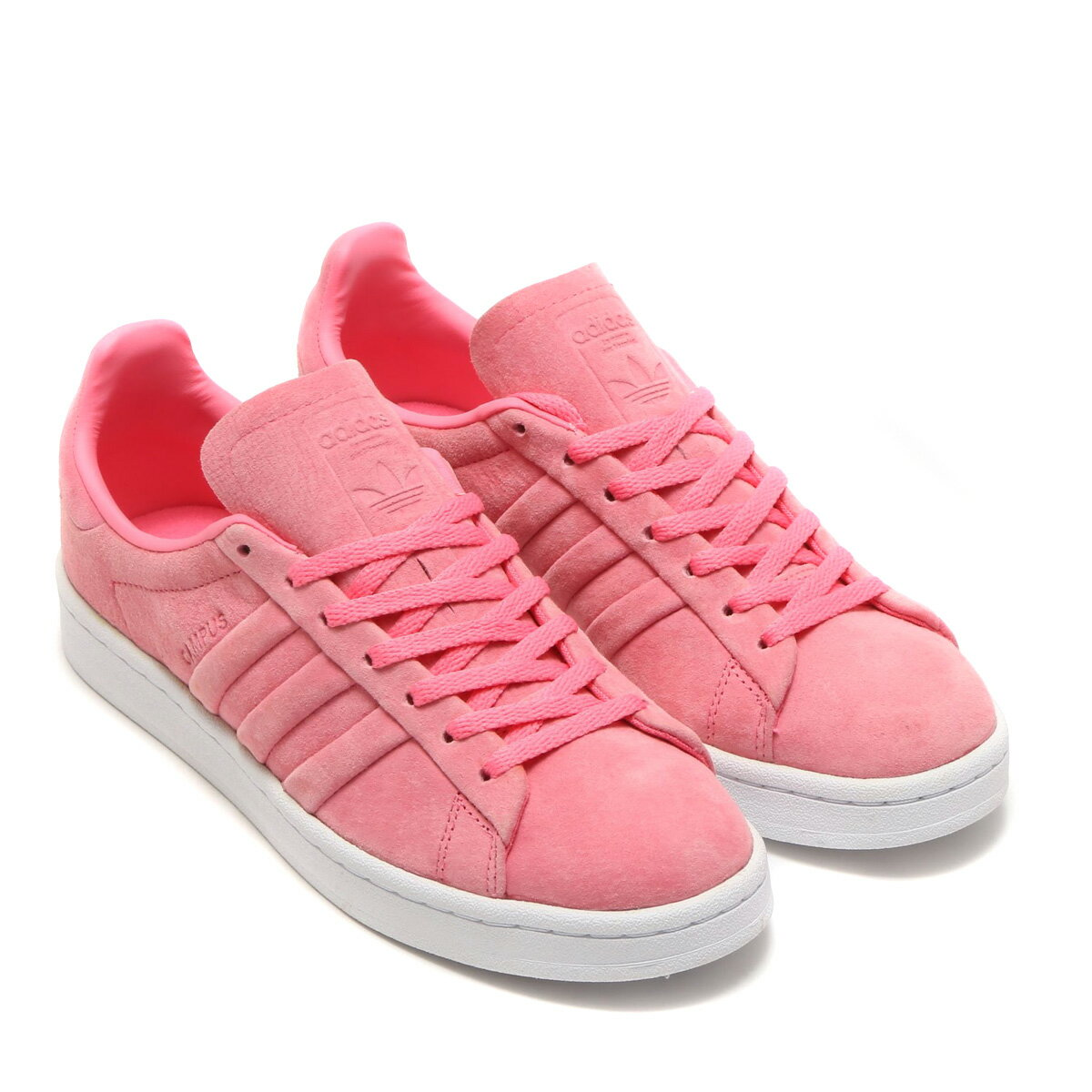 adidas Originals CAMPUS STITCH AND TURN W (アディダス オリジナルス キャンパス ステッチ アンド ターン W) Chalk Pink/Chalk Pink/Gold Metallic【レディース スニーカー】18SS-S