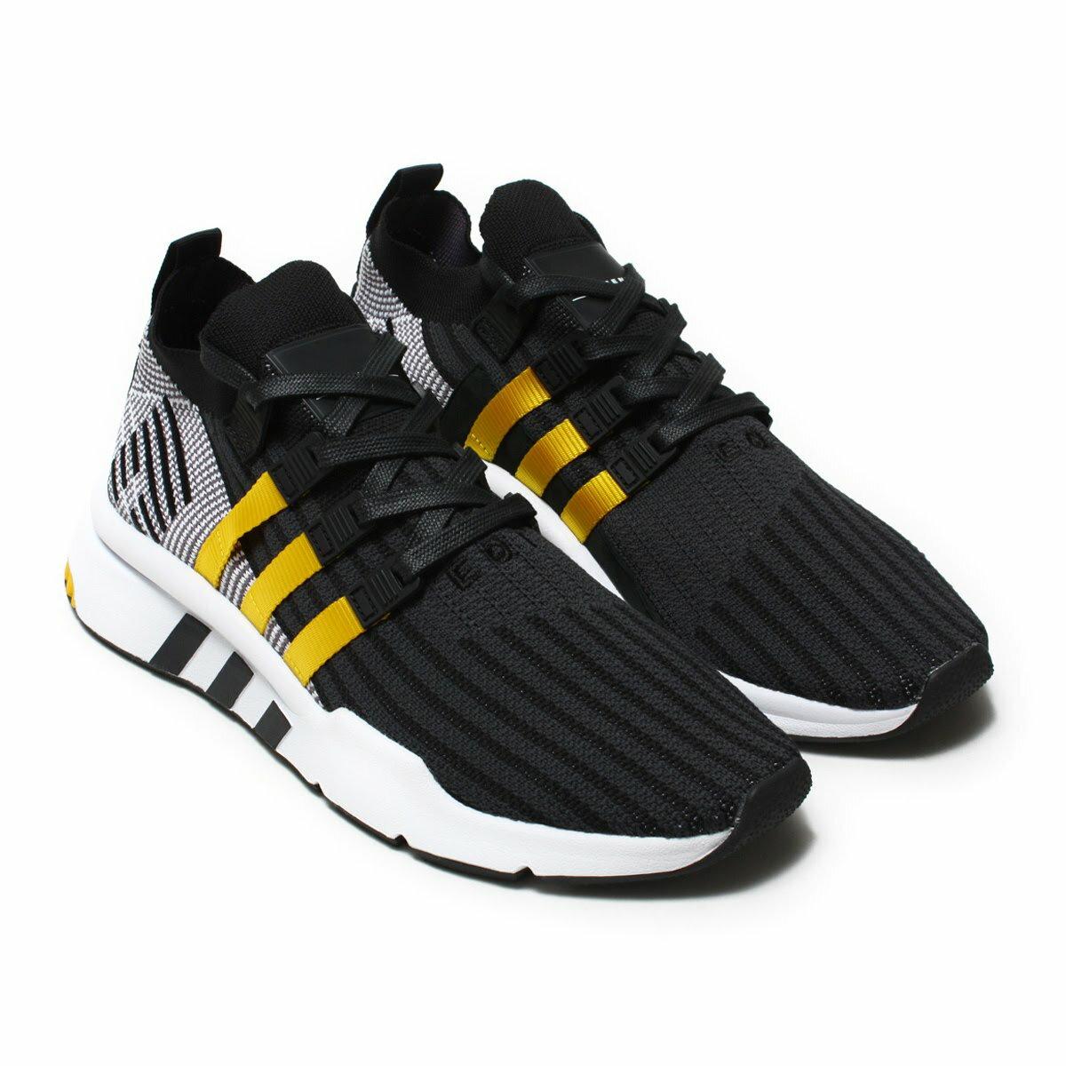 adidas Originals EQT SUPPORT MID ADV PK(アディダス オリジナルス イーキューティー サポート ミッド ADV PK)Core Black/Eqt Yellow/Running White【メンズ レディース スニーカー】18SS-I