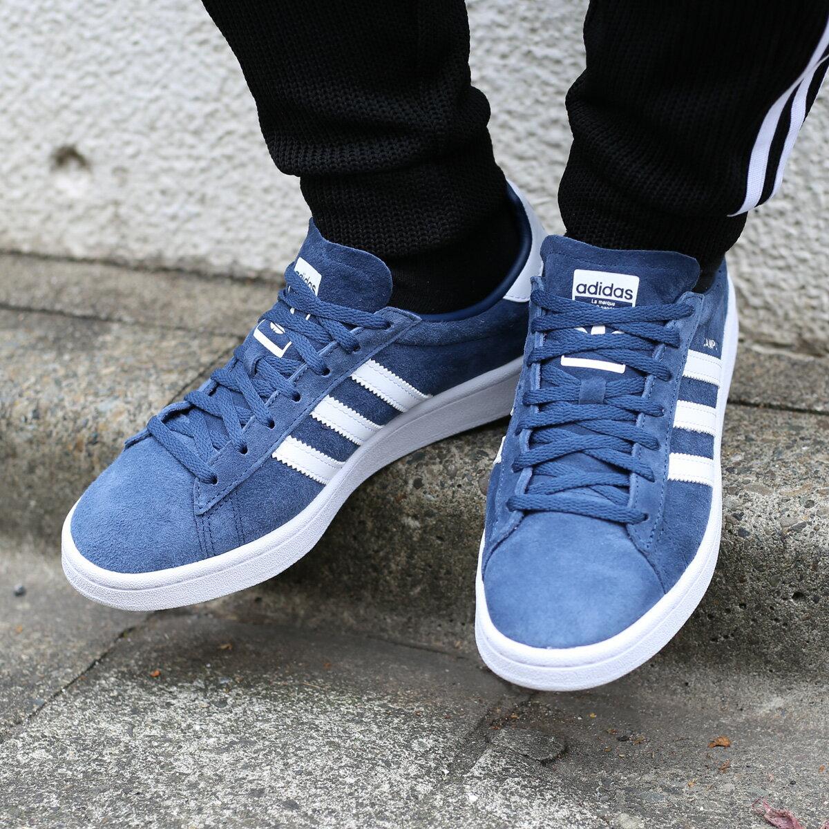adidas Originals CAMPUS W (アディダス オリジナルス キャンパス W)Mineral Blue/Running White/Running White【レディース スニーカー】18SS-I