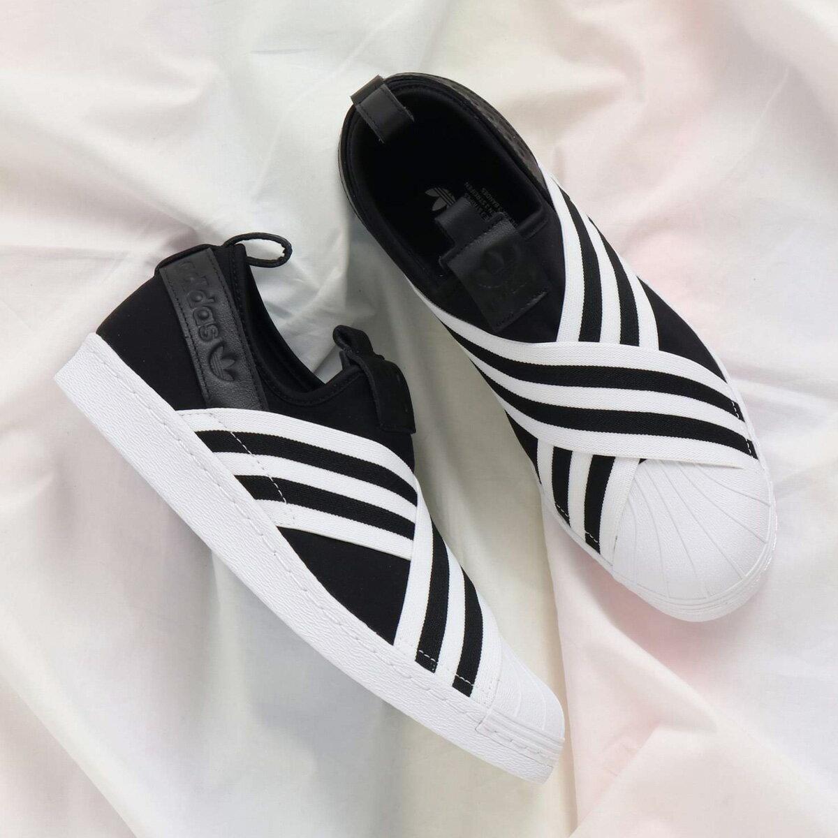 adidas Originals SUPERSTAR SLIPON W(アディダス オリジナルス スーパースタースリッポン W)Core Black/Running White/Running White【メンズ レディース スニーカー】18SS-I