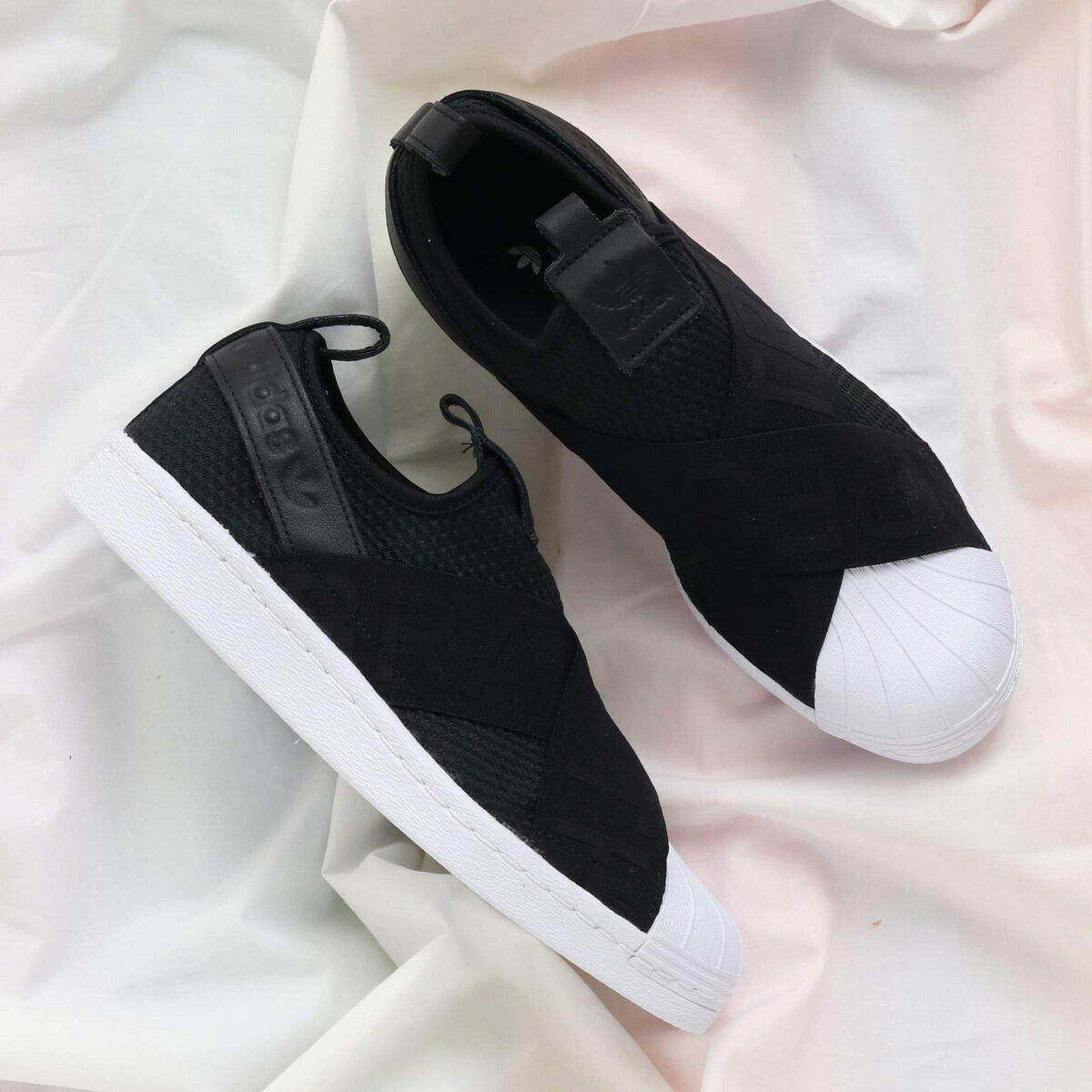 adidas Originals SUPERSTAR SLIPON W (アディダス オリジナルス スーパースタースリッポン W) Core Black/Core Black/Running White【レディース スニーカー】18SS-I