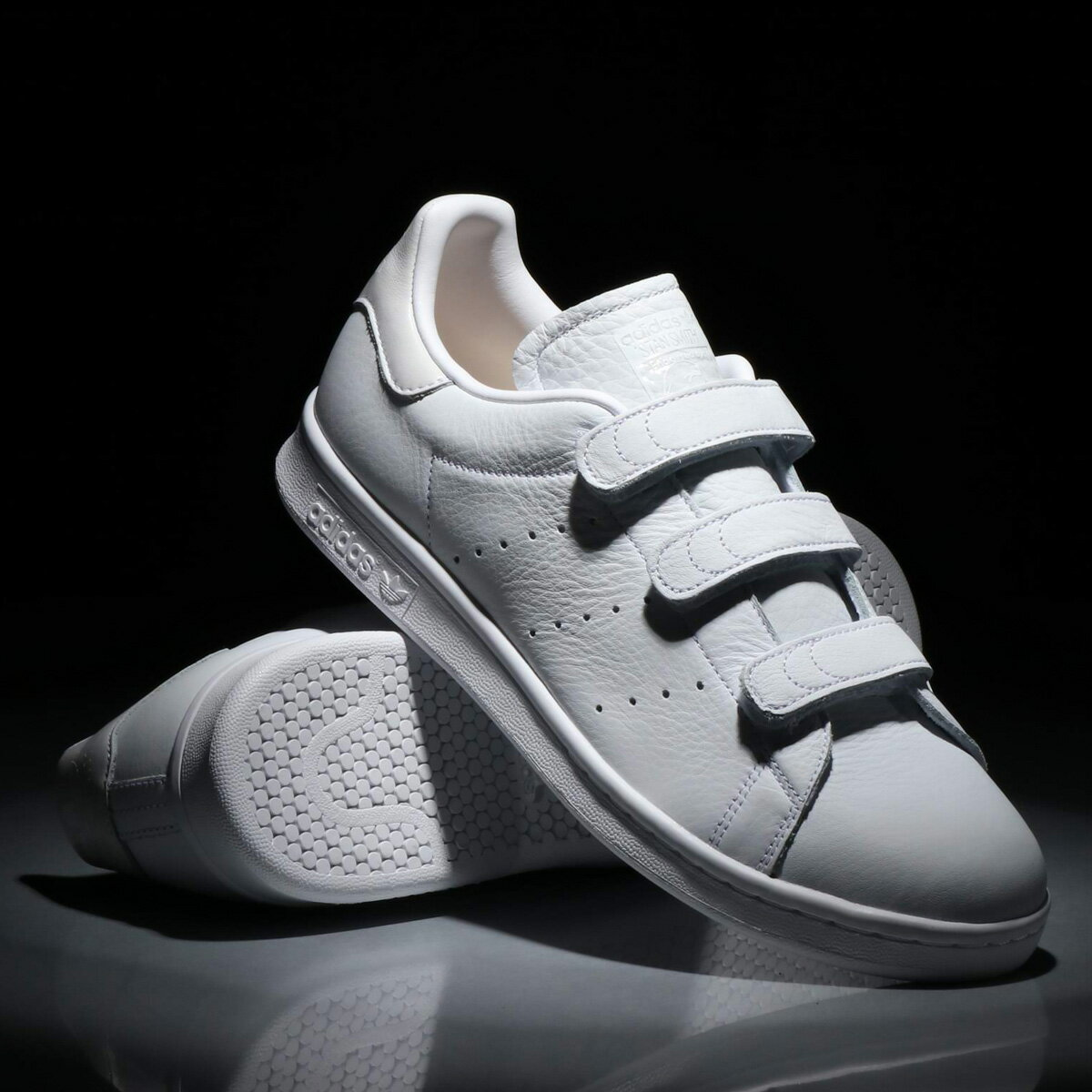 adidas Originals STAN SMITH CF(アディダス オリジナルス スタンスミス CF)Running White/Running White/Running White【メンズ レディース スニーカー】18SS-I