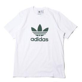 adidas Originals TREFOIL TEE(アディダス オリジナルス トレフォイルTEE)White/Trace Green【メンズ Tシャツ】18FW-I