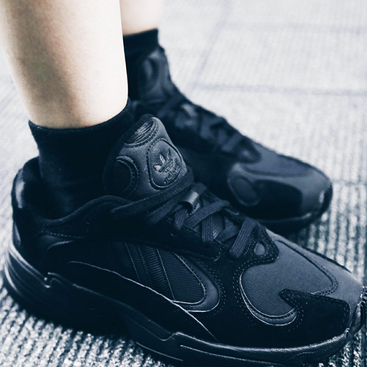 adidas Originals YUNG-1 (アディダス オリジナルス ヤング 1) CORE BLACK/CORE BLACK/CARBON【メンズ レディース スニーカー】18FW-S