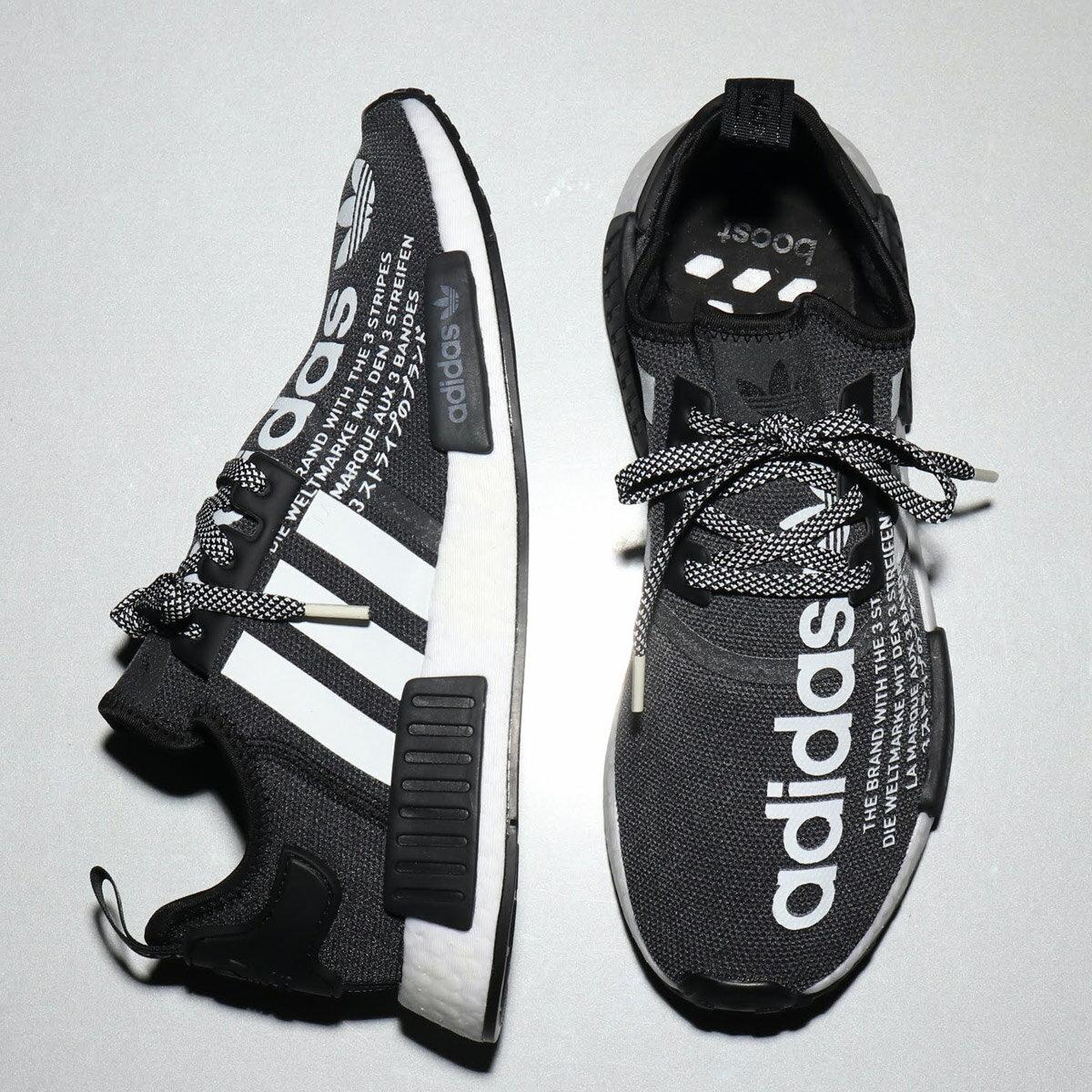 adidas Originals NMD_R1 ATMOS (アディダス オリジナルス エヌエムディ_R1 アトモス)CORE BLACK/RUNNING WHITE/CORE BLACK【メンズ レディース スニーカー】18FW-I