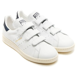 adidas Originals STAN SMITH CF (adidas originals Stan Smith comfort) RUNNING WHITE/COLLEGE NAVY/RUNNING WHITE 16SS-I