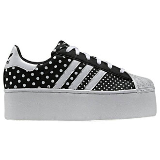 adidas Originals SS 2 PLATFORM UP EF W (아디다스오리지나르스스파스타 2 플랫폼 업 EFwomens) BLACK/RUNNING WHITE 14 SS-I