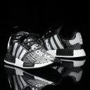 adidas NMD_R1 atmos(アディダス エヌエムディー_R1 アトモス)CORE BLACK/RUNNING WHITE/RUNNING WHITE【メンズ レデ…