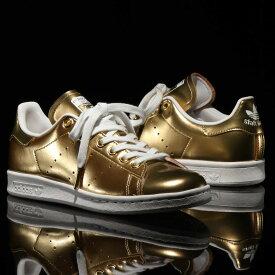 adidas STAN SMITH(アディダス スタンスミス)GOLD MET/GOLD MET/CRYSTAL WHITE【メンズ レディース スニーカー】19FW-I